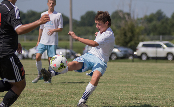 Fewster defeats defending champ U15B United FA